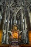 Franciscankyrka, Salzburg royaltyfri foto