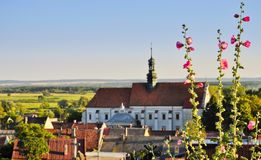 Franciscans monastery in Pinczow, Poland. Royalty Free Stock Image