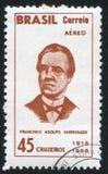 Francisco Adolfo de Varnhagen Imágenes de archivo libres de regalías