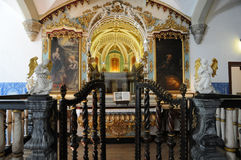 Francisco church in Evora Royalty Free Stock Photos