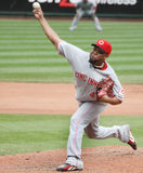 Francisco Cordero - #48 de Cincinnati Reds Photos libres de droits