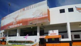 Francisco A Estadio de Micheli en el La Romana fotos de archivo