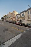 Francisco-Fernschreiber-Hügel-Nachbarschaft Lizenzfreies Stockfoto