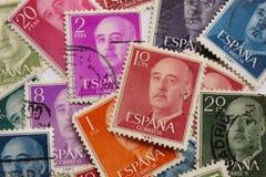 Francisco Franco arkivbild