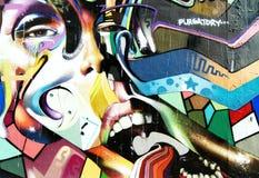 francisco graffiti moder San Zdjęcie Royalty Free