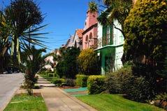 Francisco-Häuser Lizenzfreie Stockfotos