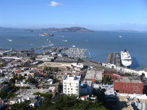 Francisco-Hafen Lizenzfreies Stockfoto