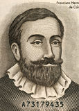 Francisco Hernandez de Cordob Arkivbilder