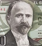 Francisco I. Madero portrait on Mexico 500 peso 1983 banknote,. Mexican president, revolutionary, writer and statesman, money closeup macro stock photos