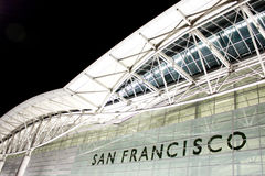 Francisco-internationaler Flughafen Lizenzfreie Stockfotografie