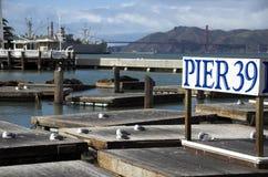 Francisco-Jachthafen Stockbilder