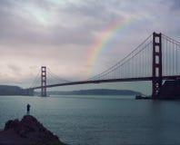 Francisco Kalifornijskie gate bridge złoty San obraz stock