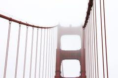 Francisco Kalifornijskie gate bridge złoty San Zdjęcie Royalty Free