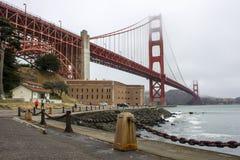 Francisco Kalifornijskie gate bridge złoty San Fotografia Stock