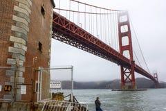 Francisco Kalifornijskie gate bridge złoty San Obrazy Royalty Free