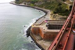 Francisco Kalifornijskie gate bridge złoty San Obrazy Stock
