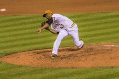 Francisco Liriano pittsburgh pirates 2015 Obraz Stock