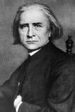 Francisco Liszt imagen de archivo libre de regalías