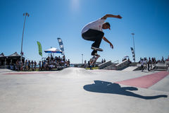 Francisco Lopez during the DC Skate Challenge Royalty Free Stock Photo