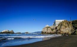 francisco plażowy ocean San zdjęcia royalty free