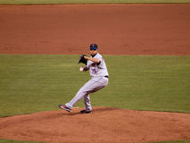 Francisco Rodriguez in motion to throw pitch Stock Photography