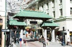 πόλη της Κίνας Francisco SAN Στοκ φωτογραφία με δικαίωμα ελεύθερης χρήσης