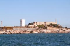 francisco san Sikt p? f?ngelset Alcatraz Maximal federalt f?ngelse f?r h?g s?kerhet royaltyfria bilder
