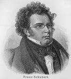 Francisco Schubert Imagen de archivo libre de regalías