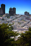 Francisco-Skyline Stockfoto
