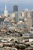 Francisco-Skyline Lizenzfreie Stockbilder