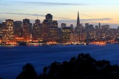 Francisco-Skyline Stockbild