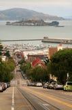 Francisco-Straßenszene Lizenzfreies Stockfoto