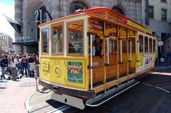 francisco tramwaj San Obrazy Royalty Free