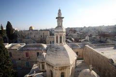 Franciszkańska kaplica potępienie w Jerozolima obraz stock