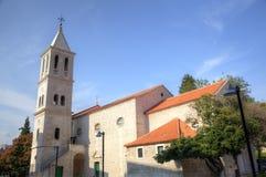 Franciszkański kościół i monaster. Shibenik (Sibenik) obrazy royalty free