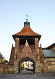Franciszkański kościół maryja dziewica w Krośnieńskim Polska Zdjęcia Royalty Free