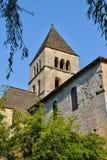 Francja, świętego Leon sura Vezere kościół w Perigord obrazy royalty free
