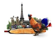 Francja Obraz Royalty Free