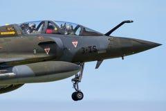 Francja airforce mirażu myśliwa 2000 płaski kokpit Obraz Stock