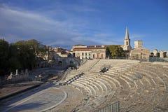 Francja, Arles rzymski theatre Obraz Royalty Free