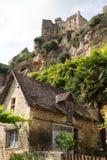 Francja Beynac Fotografia Stock