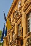 Francja, Bouche du Rhone, miasto salon de Provence Obrazy Stock