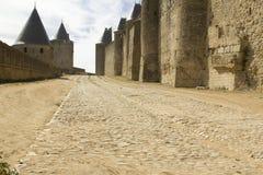 Francja. Carcassonne. Zdjęcie Stock