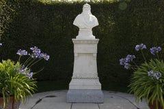 Francja, indre-et-loire, Amboise, górska chata, Leonardo da Vinci pomnik - Sierpień, 2015 Fotografia Stock