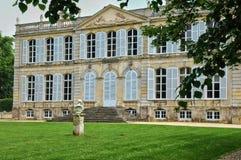Francja, kasztel Canon w Normandie obraz royalty free