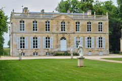 Francja, kasztel Canon w Normandie fotografia royalty free