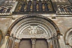 Francja katedra Świątobliwy Maryjny Magdalene zdjęcie stock