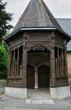 Francja, kościół Ry w wontonie Morskim Fotografia Royalty Free