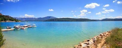 Francja, Lac - De Sainte Croix Zdjęcia Royalty Free