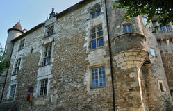 Francja, malownicza wioska Carennac w udziale obraz royalty free